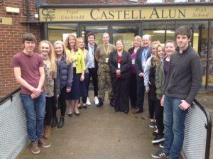 Former Students Visit