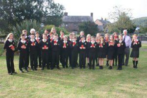 Gideons visit School