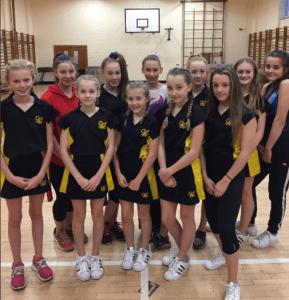 Urdd Gymnastics Squad