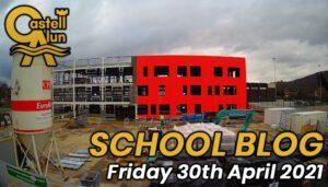 Friday 30th April 2021